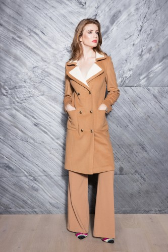 Elegant cashmere coat - only 2 pcs.