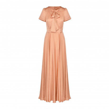 Full of Femininity, Formal Satin Dress (only 2 pieces)